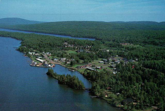 COPPER HARBOR AERIAL