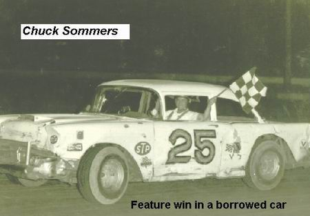 1966 FEATURE WIN IN A BORROWED CAR CHUCK SOMMERS
