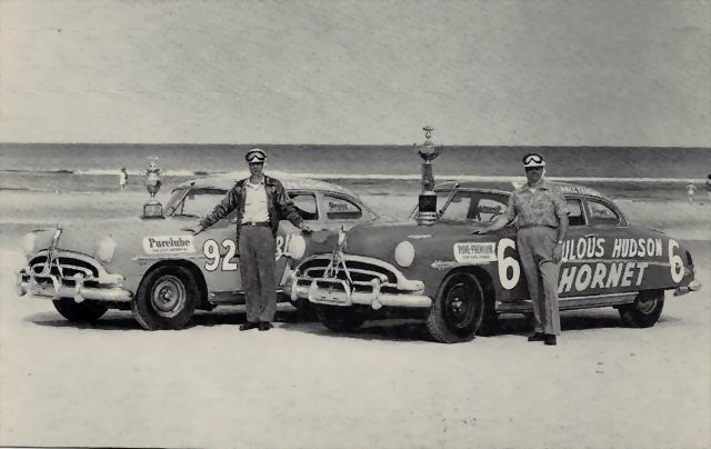 HUDSON CARS IN DAYTONA RACE YPSILANTI