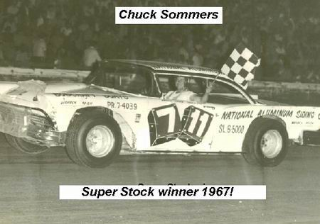 SUPER STOCK WINNER CHUCK SOMMERS