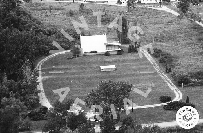 Devils Lake Drive-In Theatre - OLD AERIAL