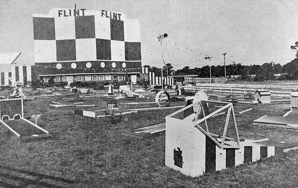 North Flint Drive-In Theatre - FROM BOX OFFICE MAGAZINE