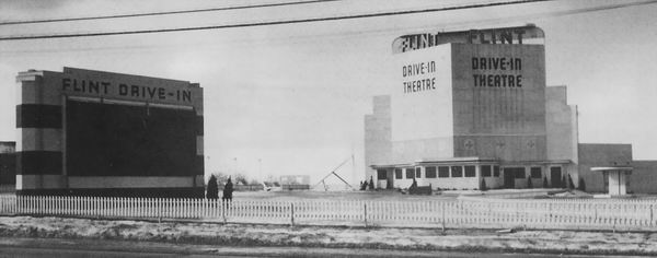North Flint Drive-In Theatre - VINTAGE SHOT FROM GARY FLINN
