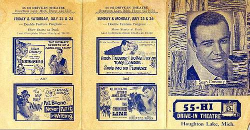 55-Hi Drive-In Theatre - OLD FLYER