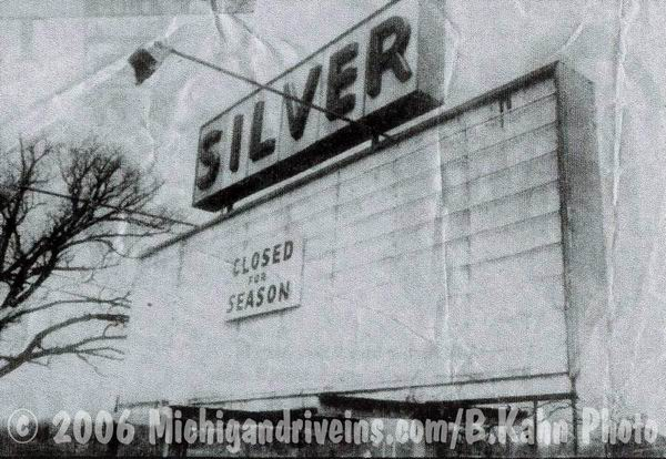 Silver Drive-In Theatre - SILVER MARQUEE MAY 1988 COURTESY BARNEY KAHN