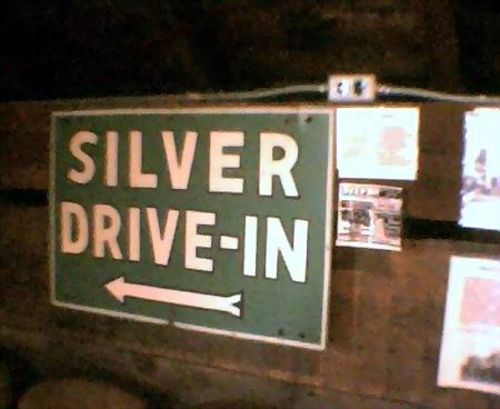 Silver Drive-In Theatre - SIGN AT LINDEN MILLS FROM GARY FLINN