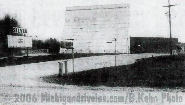 Silver Drive-In Theatre -  SCREEN FROM B KAHN