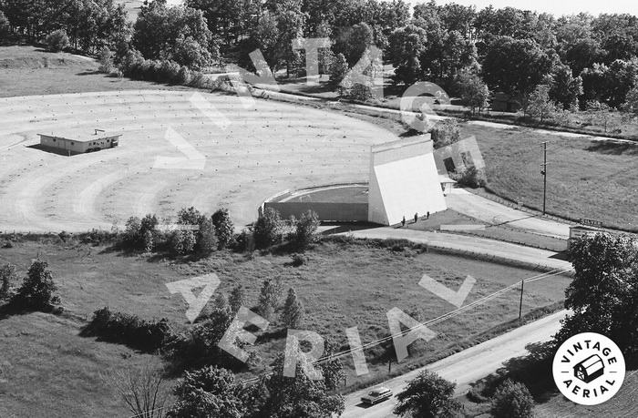 Silver Drive-In Theatre - OLD AERIAL