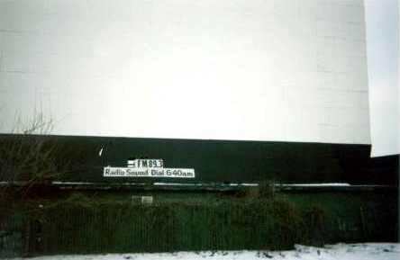 Mt Clemens Drive-In Theatre - FRONT OF SCREEN - PHOTO FROM RG
