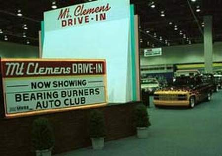 Mt Clemens Drive-In Theatre - REPLICA AT AUTORAMA