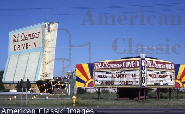 Mt Clemens Drive-In Theatre - FROM AMERICAN CLASSIC IMAGES