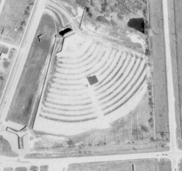 Mt Clemens Drive-In Theatre - OLD AERIAL