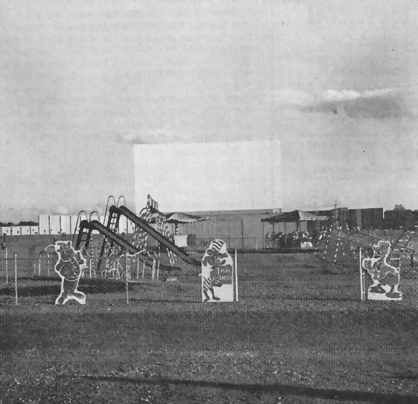 Miracle Mile Drive-In Theatre - PLAYGROUND AND SCREEN