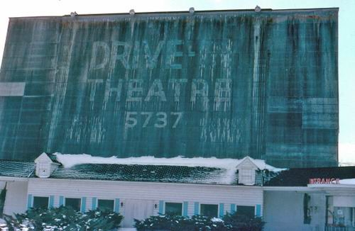 Lakeshore Drive-In Theatre - OLD PHOTO