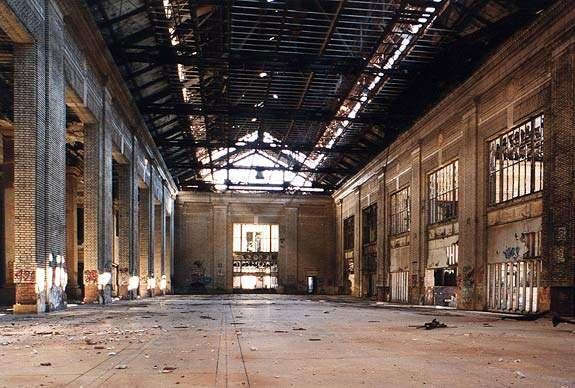 MICHIGAN CENTRAL STATION FROM RON GROSS