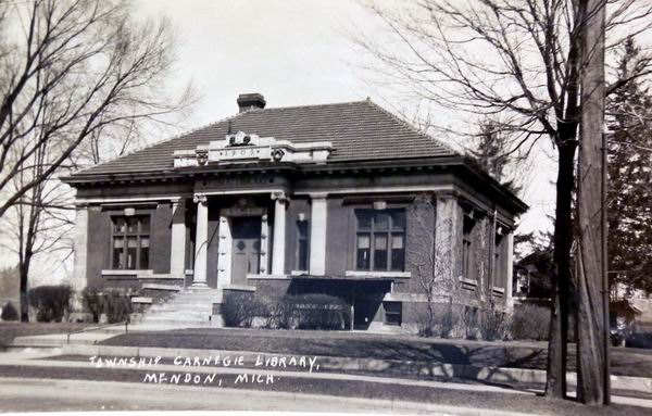CARNEGIE LIBRARY MENDON