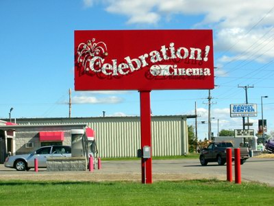 Celebration Cinema Mount Pleasant - SIGN