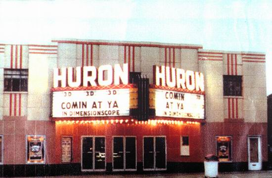 Huron Theatre - OLD PIC FROM WALTS CONEY ISLAND