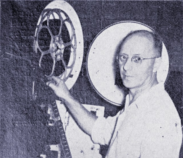 Huron Theatre - OLIVER MOORE - PROJECTIONIST