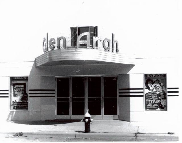 Glen-Arah Theater - OLD PHOTO FROM DUANE