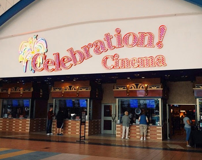 Celebration! Cinema RiverTown - MAIN ENTRANCE