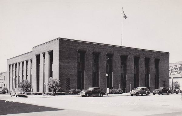 MUSKEGON POST OFFICE