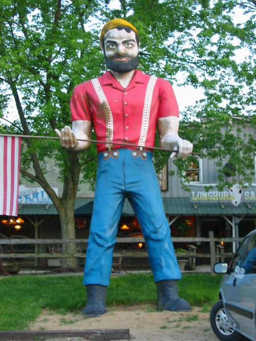 Irish Hills Area - PAUL BUNYAN